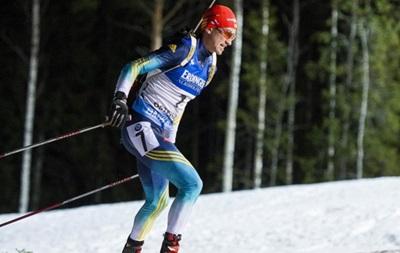 Биатлон: Украинец Семенов выиграл бронзу на этапе Кубка мира