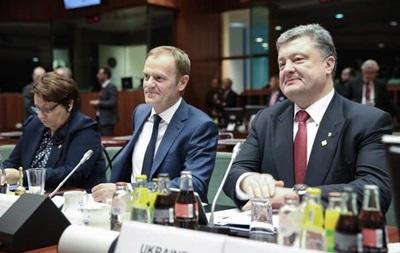 Порошенко на заседании Совета ЕС рассказал о встрече в Минске
