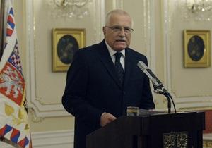Президент Чехии называет Вацлава Гавела символом чешского государства