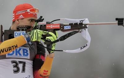 Биатлон: Немец Пайффер  украл  победу у Фуркада