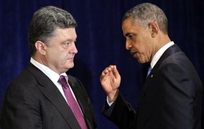 Обама и Порошенко высказались за длительное перемирие на Донбассе