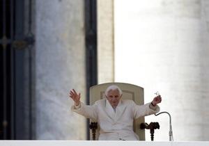 Папа Римский: Итоги понтификата Папы Римского Бенедикта XVI