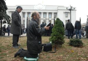В МВД назвали участников акций протеста  проплаченными