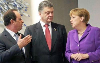 Меркель, Олланд, Порошенко: Дебальцево вызывает тревогу