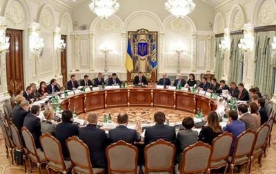 Сегодня Порошенко проведет заседание Нацсовета реформ