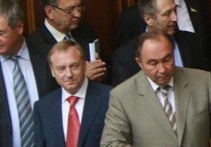 Ъ: Рада не смогла принять антикоррупционный законопроект Януковича из-за разногласий его сторонников