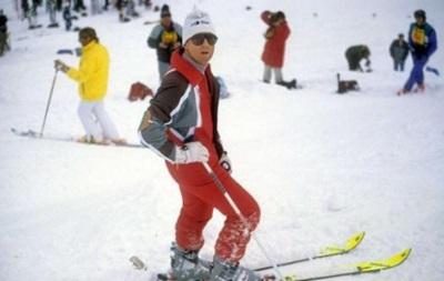 Легенда Баварии ударился головой, катаясь на лыжах
