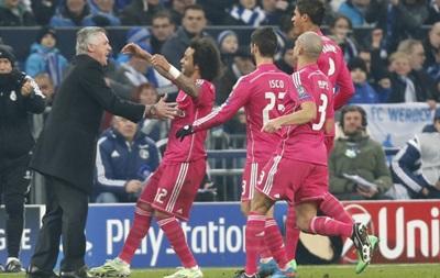 Фотогалерея: Как Реал уверенно справился с Шальке в первом матче 1/8 Лиги чемпионов