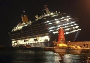 Владельцы Costa Concordia проверят все лайнеры компании