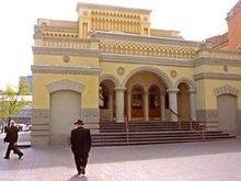 Киевская синагога подверглась нападению хулигана