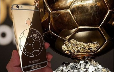 Криштиану Роналду получит в подарок золотой iPhone