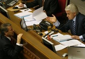 Литвин потребовал от коалиции доказать свое существование (обновлено)