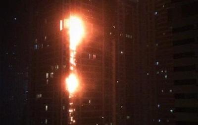 Пожар в небоскребе в Дубае потушили