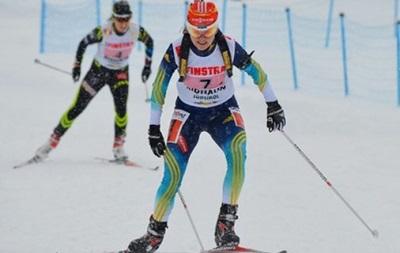 Биатлон: Украинская юниорка завоевала бронзу в гонке преследования на чемпионате мира в Белоруссии