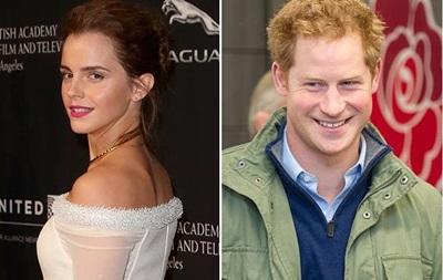 Эмма Уотсон прокомментировала отношения с принцем Гарри