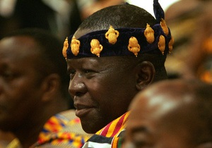 В Норвегии обокрали африканского короля