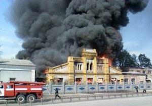 Пожар в Харькове потушен: горел склад с туалетной бумагой