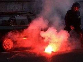 Антиглобалисты устроили погром в центре Женевы