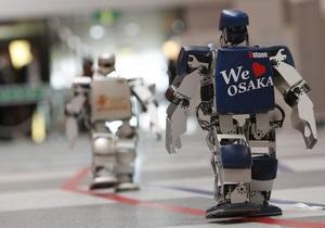 В Японии завершился первый в мире марафонский забег роботов