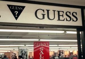 Бренд Guess отсудил права на букву G