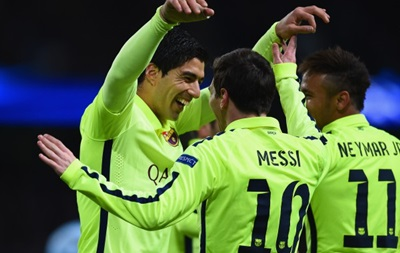 Барселона в большинстве переиграла Манчестер Сити