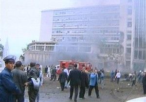 В Алжире более 30 человек пострадали при теракте у здания полиции