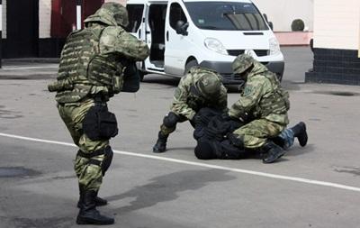 В Одессе показали работу штурмовых групп