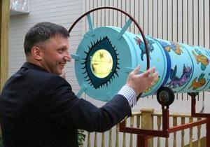 В Киеве представили самый большой в Украине калейдоскоп