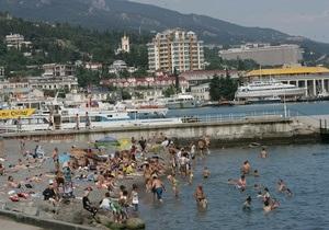 За полгода Крым принял почти полтора миллиона туристов