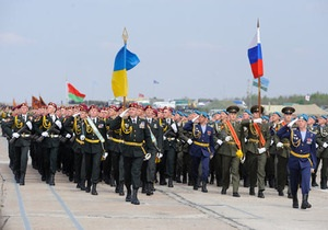 В Киеве прошла репетиция парада