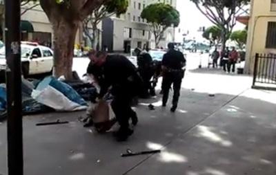 Полицейские застрелили бездомного в Лос-Анджелесе