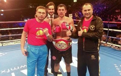 Бокс: Украинец Плотников стал интерконтинентальным чемпионом по версии IBF