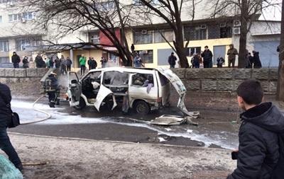 В Харькове взорвался автомобиль командира батальона Слобожанщина