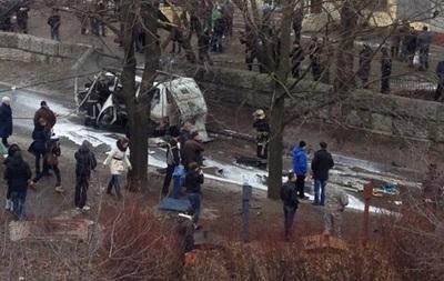 МВД озвучило версии взрыва авто комбата  Слобожанщины