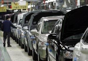 Продажи легковых автомобилей в Украине сократились на 12%