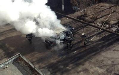 Второй автомобиль в Харькове сгорел из-за испорченой проводки - МВД