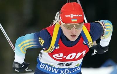 Украинка Семеренко выиграла бронзу на чемпионате мира по биатлону