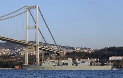 В районе учений НАТО заметили российские военные корабли