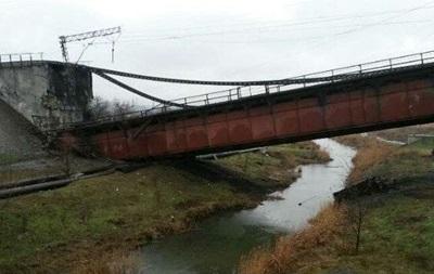 В ЛНР заявляют о подрыве неизвестными железнодорожного моста
