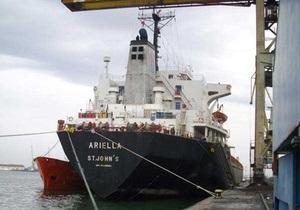 Сомалийские пираты захватили словенский балкер с украинцами на борту