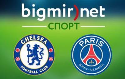 Челси - ПСЖ 2:2 Онлайн трансляция матча 1/8 финала Лиги чемпионов