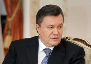 Янукович подписал закон о ратификации зоны свободной торговли с СНГ