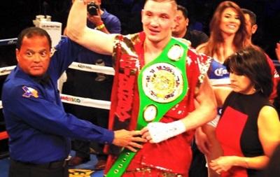 Бокс: Украинец Шабранский завоевал свой первый титул на профиринге