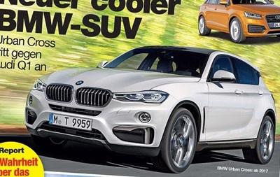 BMW выпустит кроссовер, который составит конкуренцию Audi Q1 - СМИ