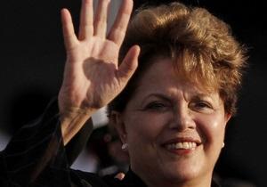 Президент Бразилии обвинила западные страны в создании  финансового цунами