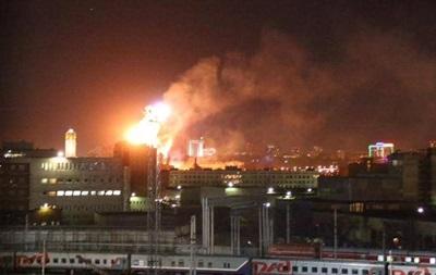 Названа возможная причина пожара в монастыре в Москве