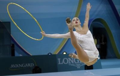 Украинская гимнастка завоевала в Барселоне четыре медали
