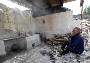 Число жертв землетрясения в Китае превысило 20 человек