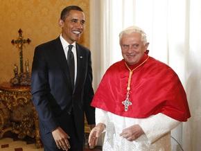 Обама встретился с Папой Римским