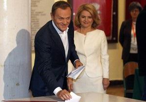 Exit poll: Партия Туска выигрывает парламентские выборы в Польше